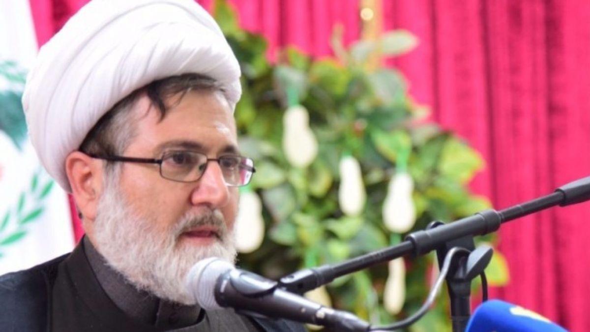 كلمة الشيخ حسن بغدادي في بلدة أنصار 3-7-2017