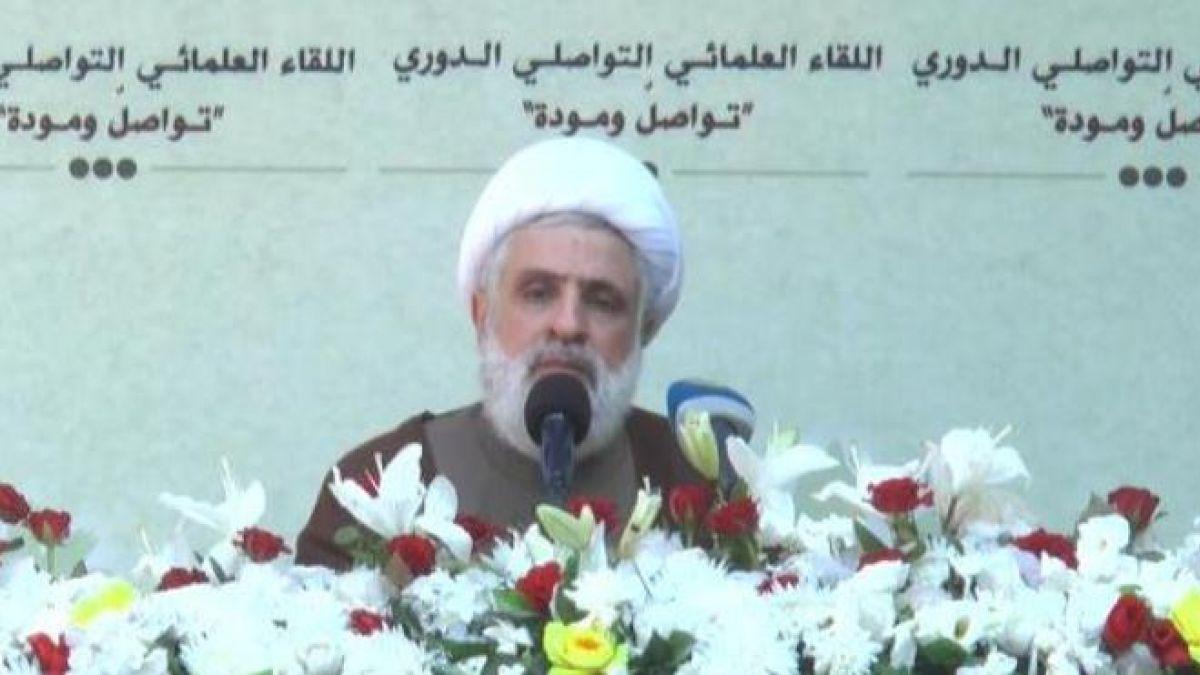 كلمة الشيخ نعيم قاسم في نهر الليطاني 10-7-2017