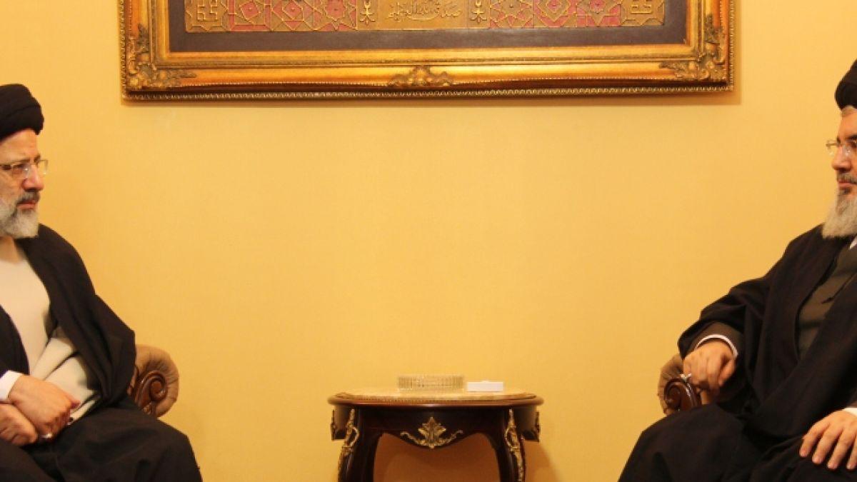 لقاء السيد حسن نصرالله مع السيد ابراهيم رئيسي