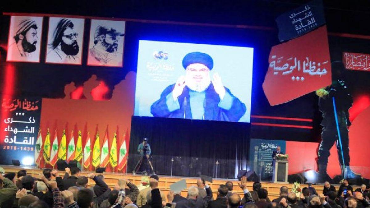 كلمة  السيد حسن نصرالله في ذكرى الشهداء القادة 16-2-2018