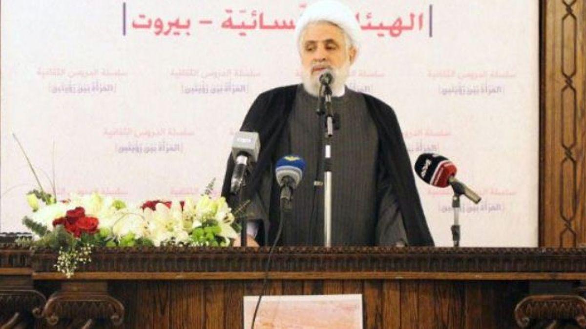 كلمة الشيخ نعيم قاسم في مجمع المجتبى 17-2-2018