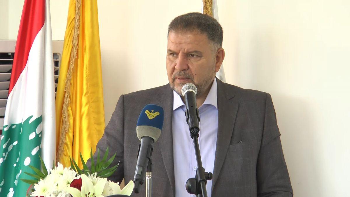 كلمة عضو كتلة الوفاء للمقاومة النائب الدكتور علي فياض في برج قلاويه