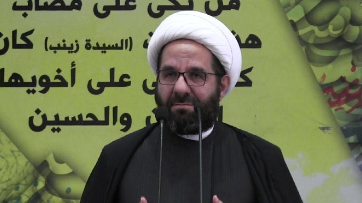 كلمة الشيخ علي دعموش في خطبة الجمعة 13-7-2018