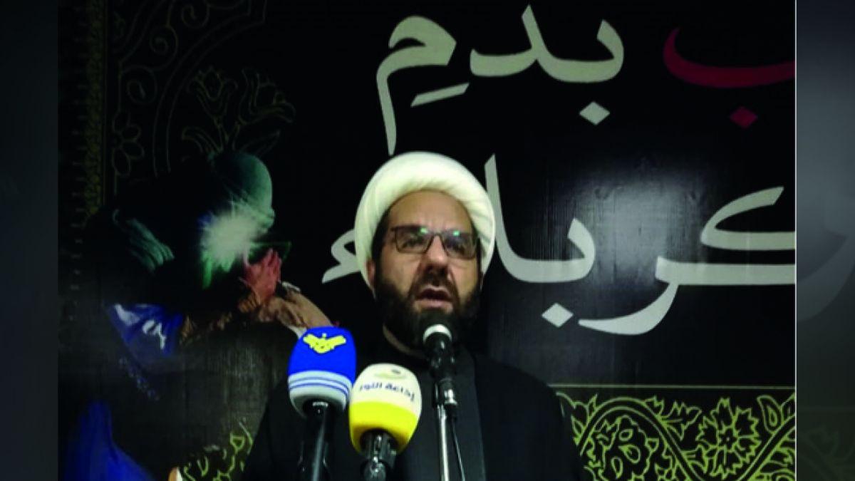 كلمة الشيخ علي دعموش في مدينة الهرمل 19-9-2018