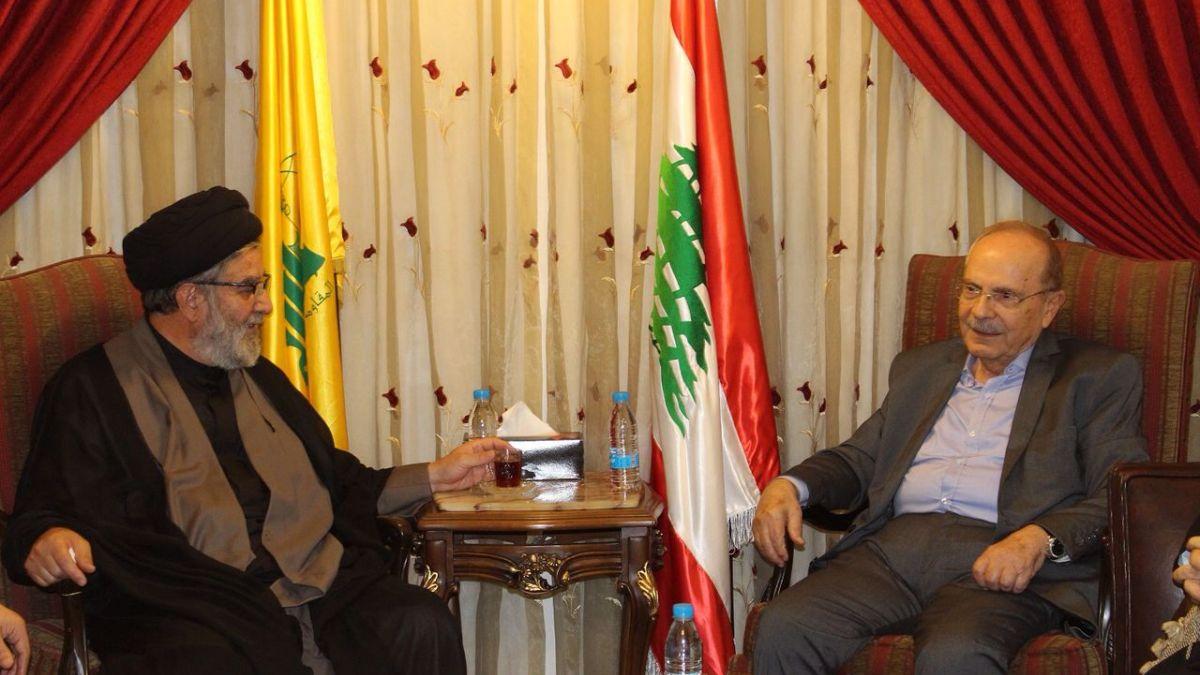 لقاء رئيس المجلس السياسي في حزب الله مع رئيس الحزب السوري القومي الاجتماعي