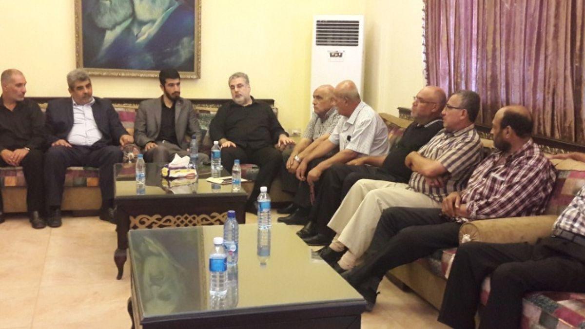 لقاء النائب نواف وفداً من قوى التحالف الفلسطيني 6-10-2018
