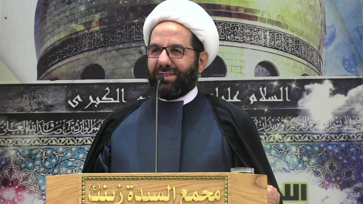 كلمة الشيخ علي دعموش في خطبة الجمعة 14-12-2018