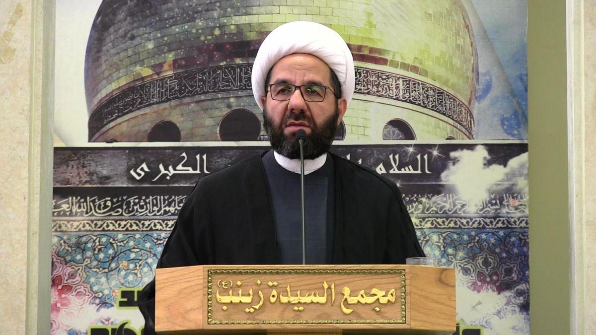 كلمة الشيخ علي دعموش في خطبة الجمعة 11-1-2019