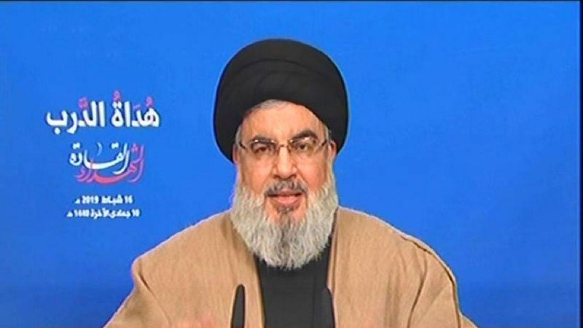 كلمة الأمين العام لحزب الله سماحة السيد حسن نصر الله  في ذكرى الشهداء القادة 16-2-2019