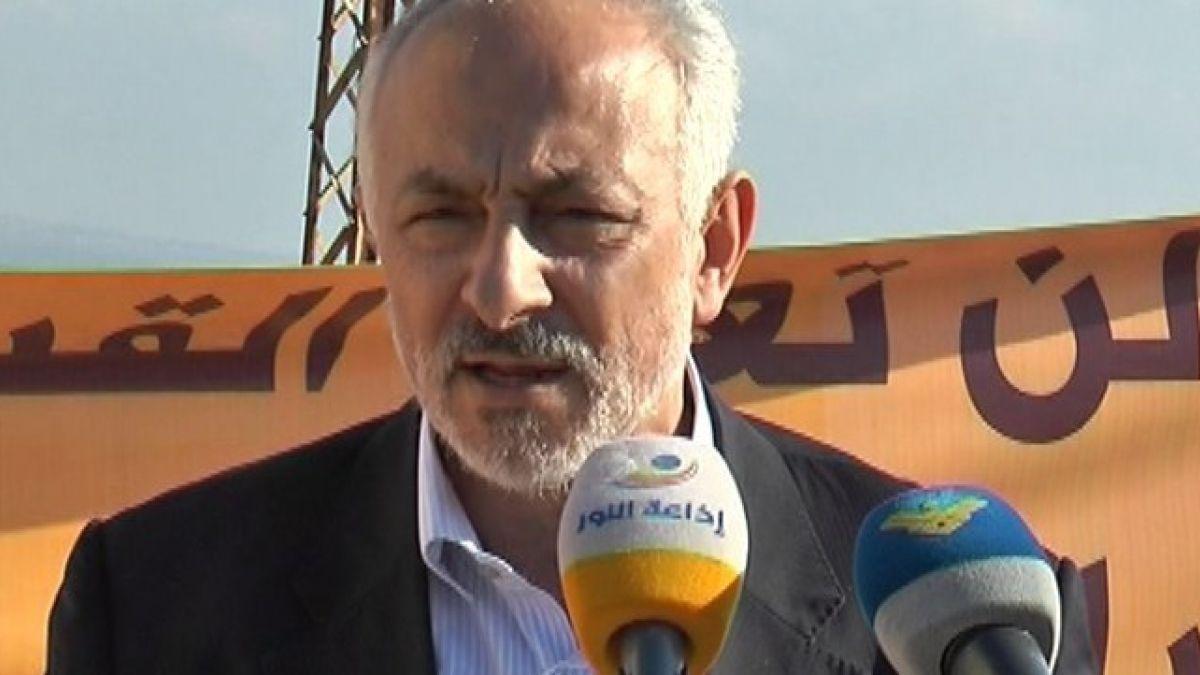 النائب السابق حسن حب الله يلتقي وفدا سياسيا من حركة انصار الله