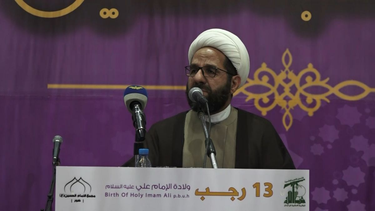 كلمة الشيخ علي دعموش في مدينة صور 24-3-2019