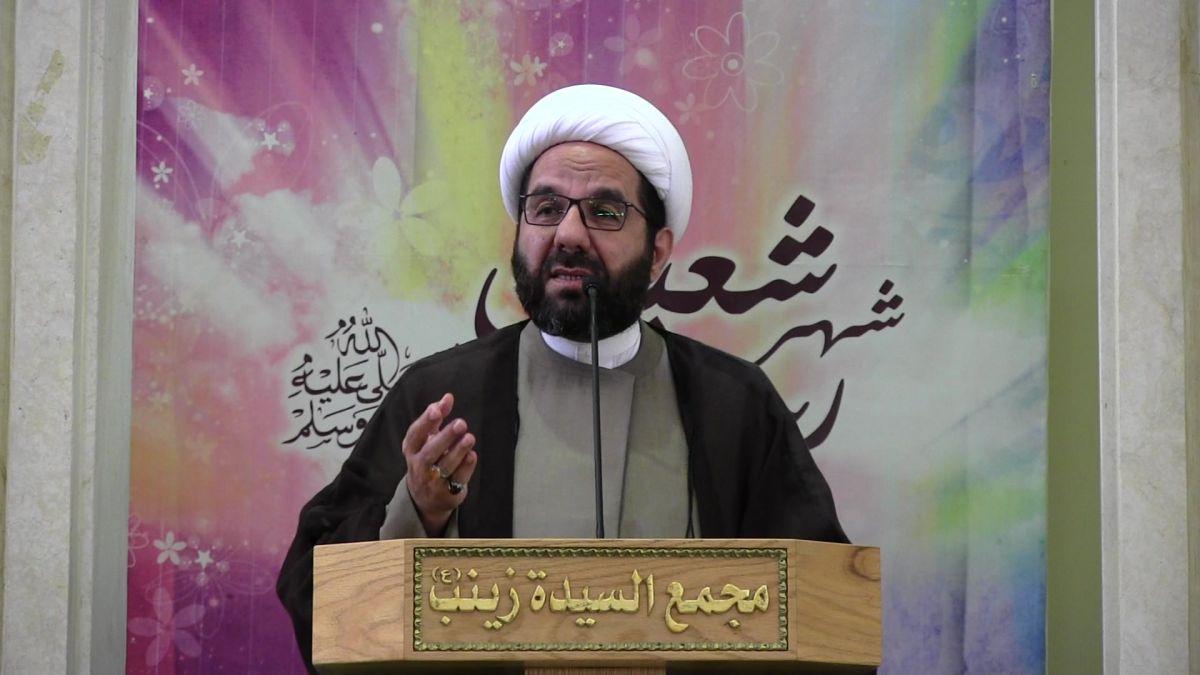 كلمة  الشيخ علي دعموش في خطبة الجمعة 19-4-2019