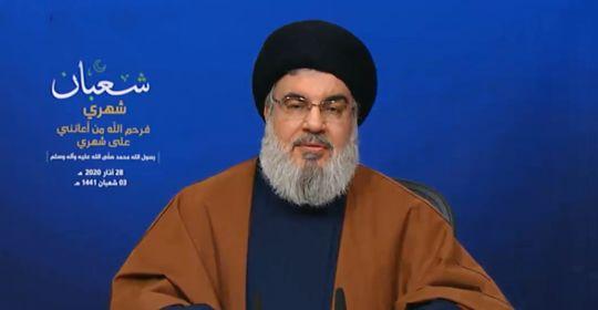 كلمة السيد حسن نصرالله حول آخر التطورات 28-3-2020