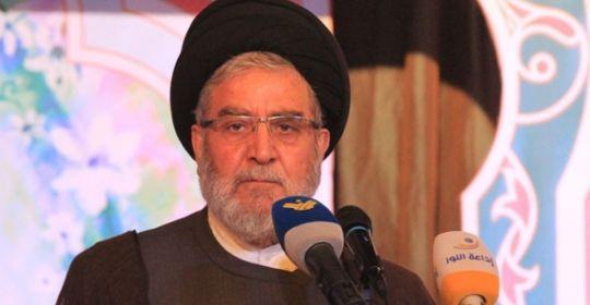 إتصال رئيس المجلس السياسي في حزب الله سماحة السيد إبراهيم أمين السيد بالبطريرك الماروني بشارة الراعي لتعزيته بوفاة شقيقه