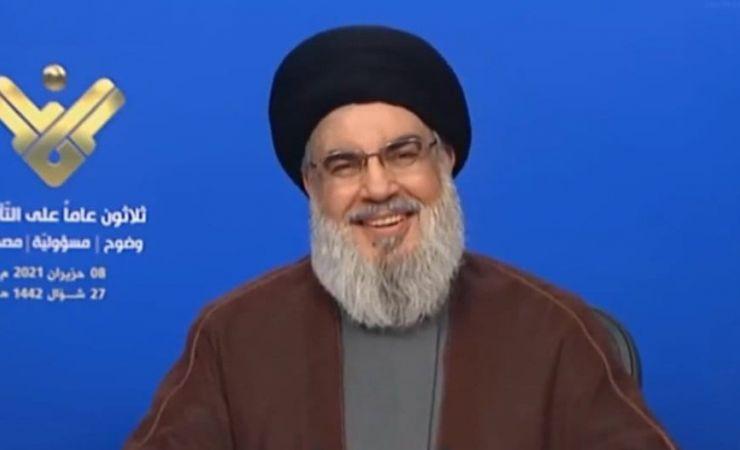 كلمة  السيد حسن نصر الله في الذكرى الثلاثين لتأسيس قناة المنار 8-6-2021