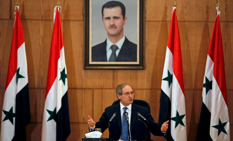بيان حزب الله حول فرض الاتحاد الأوروبي عقوبات على  وزير الخارجية السورية فيصل  المقداد 16-1-2021