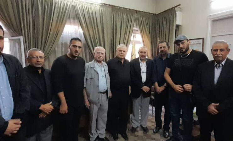 وفد من حزب الله يزور العاصمة دمشق ويلتقي أمين سر اللجنة المركزية لحركة فتح الانتفاضة ويعزي بأمين السر المساعد 16-10-2021