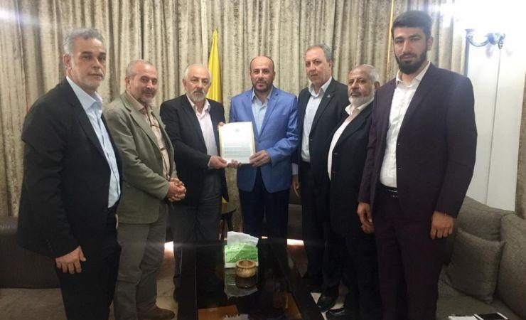 حماس تسلم حزب الله رسالةً إسماعيل هنية إلى السيد حسن نصر الله  6-7-2020